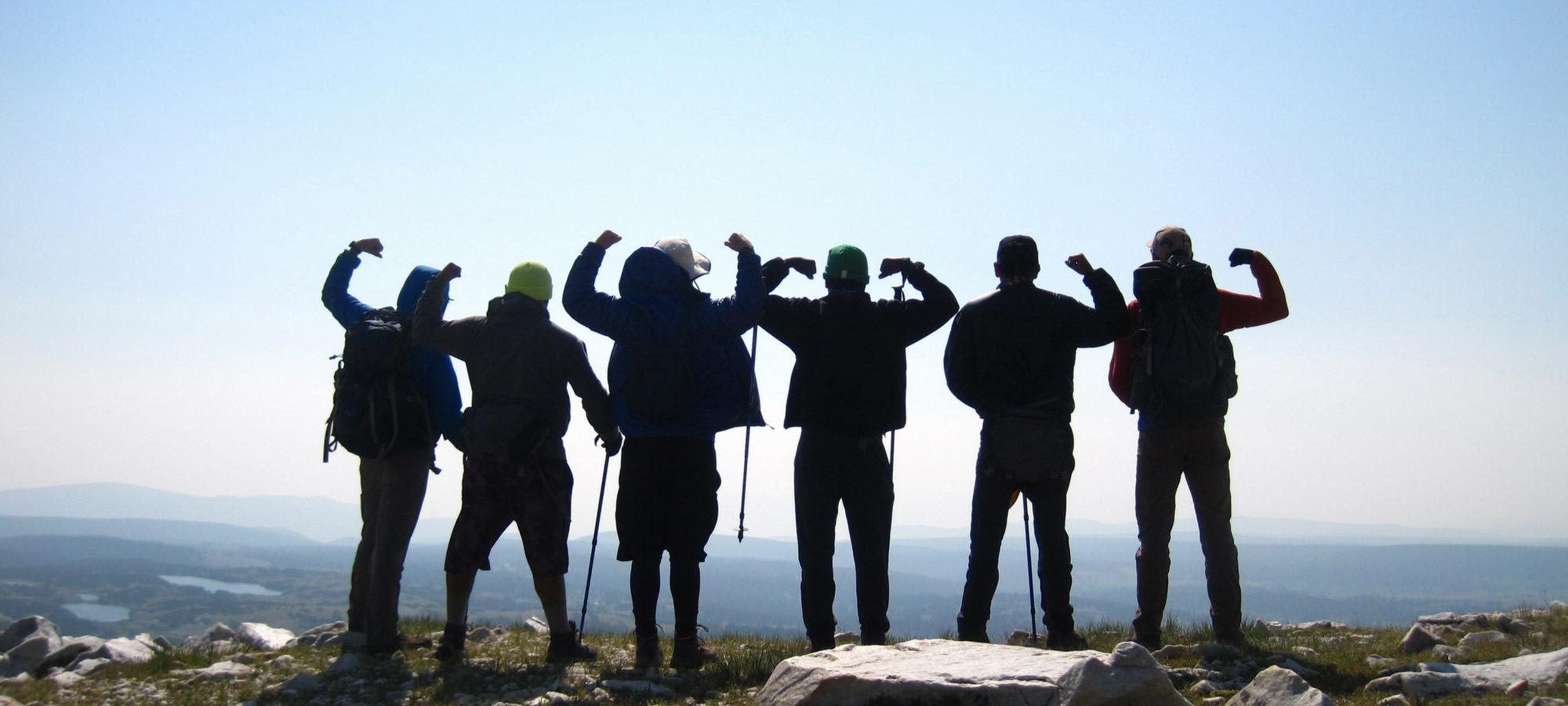 Group Sucessfully climbed mountain