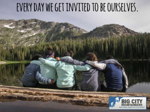 Every day we get invited to be ourselves